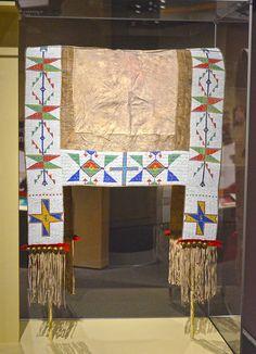 Lakota - Teton-Western Sioux saddle blanket 1890 - Smithsonian National Museum of the Native American