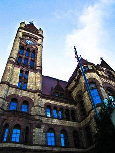City Hall. Cincinnati, Ohio.