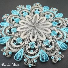 13 Paper Quilling Design Ideas That Will Stun Your Friends Neli Quilling, Paper Quilling Patterns, Quilled Paper Art, Origami Paper Art, Quilling Paper Craft, Paper Crafts, Paper Quilling For Beginners, Origami 3d, Quilling Christmas
