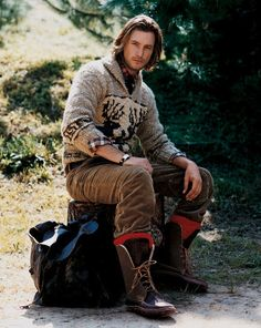 Gabriel, PRL Cowichan Sweater, 2004
