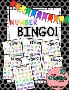Number BINGO!