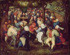 Pieter Bruegel - Peasant Wedding Dance