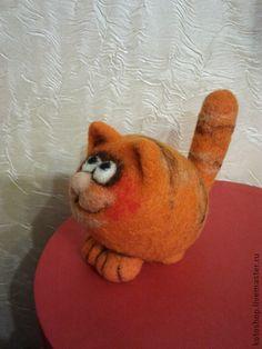 Игрушки животные, ручной работы. Ярмарка Мастеров - ручная работа Котята войлочные маленькие. Handmade.
