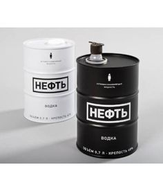NEFT Vodka Negro 700 ml Simple Packaging, Coffee Packaging, Pretty Packaging, Vodka, Cosmetic Packaging, Brand Packaging, Kombucha Bottles, Oil Barrel, Coffee Design