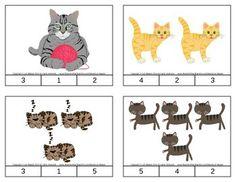 Cat Count & Clip Cards *Common Core Aligned*