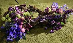 Meegedaan aan de flowercup 2015. De opdracht was om een grafstuk te maken.