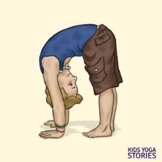 8 Thanksgiving Yoga Poses: Giving Thanks to Nature (Printable Poster) - Kids Yoga Stories Partner Yoga Poses, Kids Yoga Poses, Easy Yoga Poses, Yoga For Kids, Yoga Kids, Rhyming Poems For Kids, Preschool Yoga, Preschool Activities, Animal Yoga