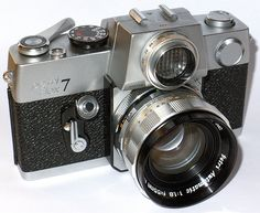 """Petriflex 7 (1964) """"The Poor Man's Contarex"""" 