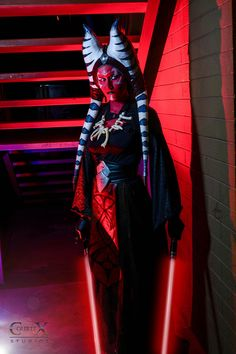 Darth Moros: Waiting by CLeigh-Cosplay Watch Artisan Crafts / Costumery / Costumes / Cosplay & Role-Playing©2015-2016 CLeigh-Cosplay #cosplay #darkside #force #lekku #oldrepublic #sith #starwars #togruta #starwarscosplay #courtneyleighcreations #lightsaber #starwarsoc (show less) Another shot of my Darth Moros oc from the star wars universe.  Photo by CourteX Studios