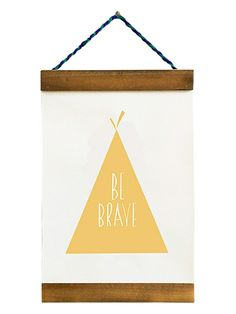 Gold Teepee Tapestry