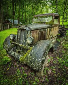 Keep On Truckin is a photograph by Jason Clemmons. At the end of the Roaring Fork trail is this old truck. It's just sitting there resting from all the hard work it did over the years. Not a bad resting place! Source fineartamerica.com