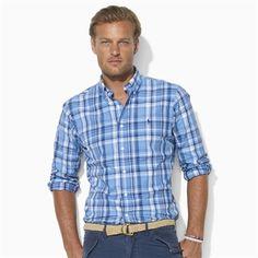 Polo Ralph Lauren Classic-Fit Plaid Cotton Shirt #VonMaur