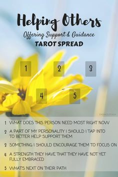 Helping Others Tarot Card Spread Oracle Cards Divination Layout by Emerald Lotus.