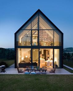 Discover the Best Latest Glass House Designs Ideas at The Architecture Design. Visit for more images and ideas about Glass House Designs Ideas. House Architecture, Residential Architecture, Architecture Photo, Beautiful Architecture, Movement Architecture, Japanese Architecture, Sustainable Architecture, Modern Barn, Modern Farmhouse