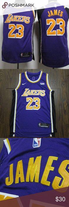 Lebron James Lakers Jersey NBA Jersey LA Nike brand new authentic jersey  with tags Nike NBA all stitched Nike Shirts Tank Tops bbac736f8