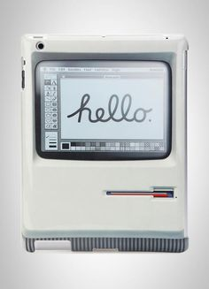 Padintosh Retro Case For iPad. Party Like It's 1984! Apple Mac 128K $49.99