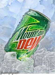 Mountain Dew..it's what gets me through the day.
