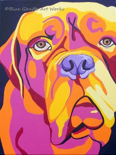 French mastiff art