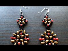 Make Dangly Beaded Earrings - DIY Style - Guidecentral - YouTube
