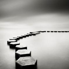 Área Visual: Josef Hoflehner. Paisajes en blanco y negro.