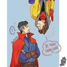 Avengers Comics, Marvel Jokes, Avengers Memes, Marvel Funny, Marvel Fan Art, Marvel X, Marvel Heroes, Loki, Thor