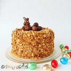 Tort simplu cu ciocolata si nuca – un desert din copilarie