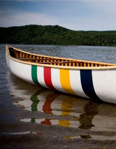 In Langford Canoe was commissioned by The Hudson's Bay Company (founded May to create this canoe. All Langford Classic Cedar Canoes are finished with mahogany and ash, with mahogany bow and stern decks, rawhide/mahogany seats, thwart a Canoe Camping, Canoe And Kayak, Canoe Paddles, Canoe Boat, Hudson Bay Blanket, Small Boats, Wooden Boats, Wooden Canoe, Boat Plans