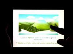 Horizontal interactive sliding panorama inside an epub 3 - YouTube
