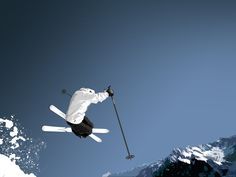 The Science of the Winter Olympics Ski Jumping Makewaves Winter Family Vacations, Ski Vacation, Ski And Snowboard, Snowboarding, Ski Ski, Get Outdoors, The Great Outdoors, Jumping Pictures, Freestyle Skiing
