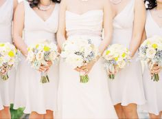 Bodies with no heads.  Desaturated colors.  Focus on bouquets instead of people.  No thanks.