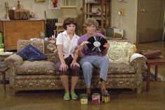 """""""Need to learn how to drive. no canned food in the house. Penny Marshall, Cindy Williams, Laverne & Shirley, Catherine Bach, Mork & Mindy, Those Were The Days, Rest In Peace, Sweet Memories, Happy Day"""