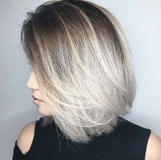 Silver grey ombre by Chris Weber
