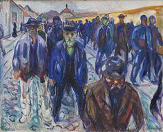 Meral Meri : - Martin Luther King Artist: by Edvard Munch