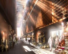 abu dhabi central market / foster + partners - Google Search