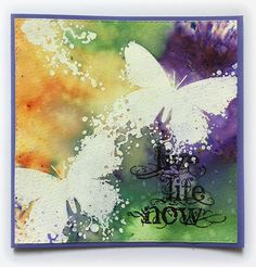 Susanne Rose Designs: Brushos and Embossing - Video Tutorial