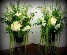 Weddings - Botanical Floral Designs with white carnations