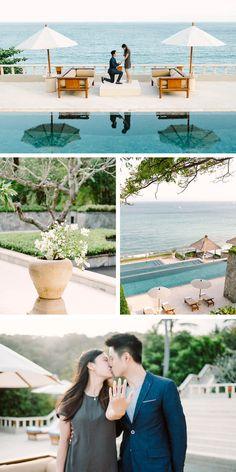 Bali Surprise Proposal at Amankila #bali #surprise #proposal #amankila