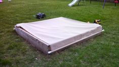 DIY Cover Stops Cats From Treating My Kid's Sandbox Like A Litterbox « CW50 Detroit