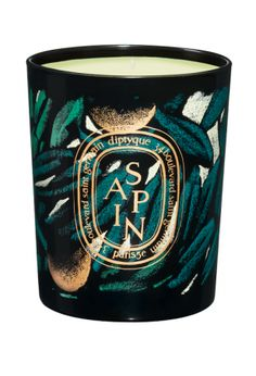 #Diptyque Sapin: The base of a pine tree which draws back to childhood, to the beauty of winter and the memories of a Christmas gone by. The fragrant resin crystals are infused with a hint of mandarin: a familiar yet unprecedented meeting of citrus and woody notes. - $70