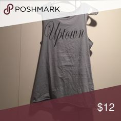 """Uptown tank Great for working out! Worn a few times, supposed to look a bit distressed. """"Project Social T"""" Nordstrom Tops Muscle Tees"""