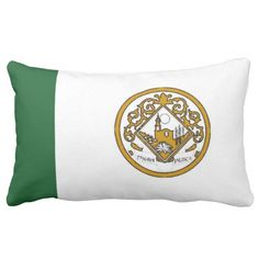 Flag Of Tonaya (Mexico) Pillows