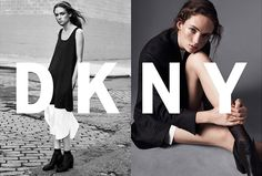 Adrienne Juliger by Lachlan Bailey for designers Dao-Yi Chow and Maxwell Osborne's first campaign for DKNY, spring 2016