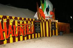 Love the font and the clown entrance