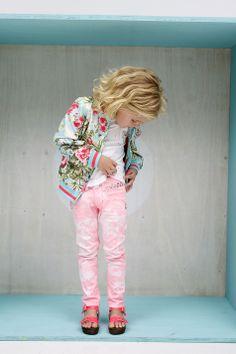 Kinderkleding | Tumble N Dry Zomer  2014 | Bloemen vest, super trendy | www.kienk.nl