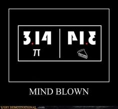 See! Pie and math, they just go together