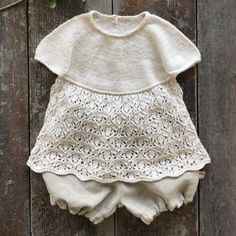 Erantis Top - Norsk opskrift – Knitting for Sif I Cord, Linnet, Skort, Sliders, Baby Knitting, Onesies, Anna, Kids, Clothes