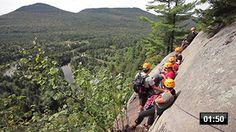 Via ferrata du Diable au parc national du Mont-Tremblant - Sépaq Parc National, National Parks, Summer 2016, Canada, Poutine, Mountains, Country, Travel Ideas, Nature