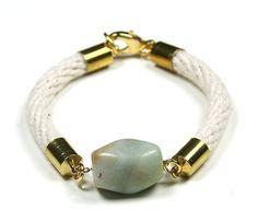 Cord & Stone Bracelet
