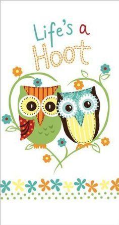 Life's a Hoot Owl Kitchen Terry Towel (1) New Design by Life's a Hoot Owl Kitchen Terry Towel, http://www.amazon.com/dp/B00AGB2YHU/ref=cm_sw_r_pi_dp_PIAxsb16QKBRS for Cassidy