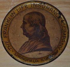 Franklin Life Insurance Company Springfield Illinois Coin/Tip Tray